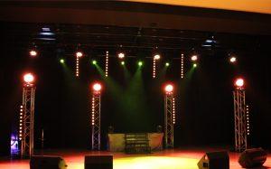 Eclairage spectacle - Salle des fêtes de Froncles