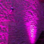 MPresta | Projecteur batterie mur en pierres